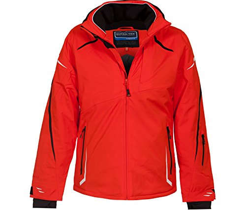 Bergson Herren Skijacke VALLEY, spicy orange [567], 60 - Herren (Orange Ski-jacke)