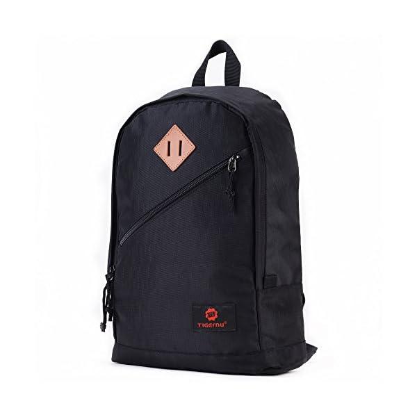 411QXScMb0L. SS600  - Fubevod Mochila niños Clasico Moderna Laptop Backpacks Unisex Mochila Escolar para Libro Negro