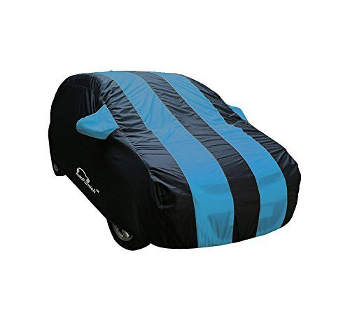 autofurnish stylish aqua stripe car body cover for hyundai verna fludic - arc aqua blue Autofurnish Stylish Aqua Stripe Car Body Cover for Hyundai Verna Fludic – Arc Aqua Blue 411QYXb8OBL