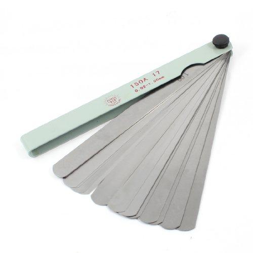 Measure Tool Metallic 0,021,0Dicke Fühlerlehre Blades 17in 1
