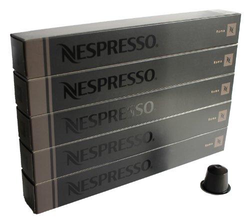 Shop for 50 Roma Nespresso Capsules Espresso Lungo Nestle by nespresso