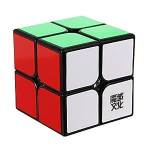 MoYu YJ Lingpo  Cube lisse Noir 2 x 2 x 2 carrés
