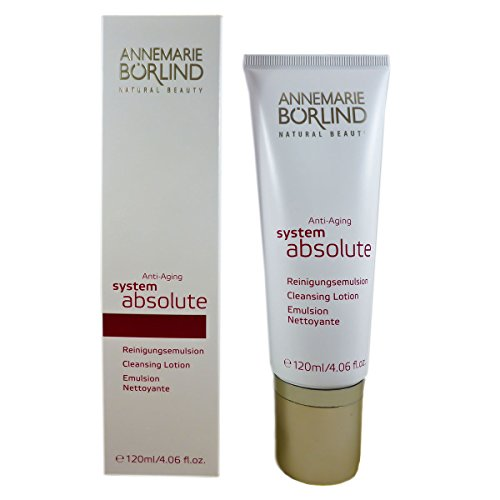 Annemarie Börlind System Absolute femme/women, Anti Aging Cleansing Lotion, 1er Pack (1 x 120 ml) (Reinigungs-system)