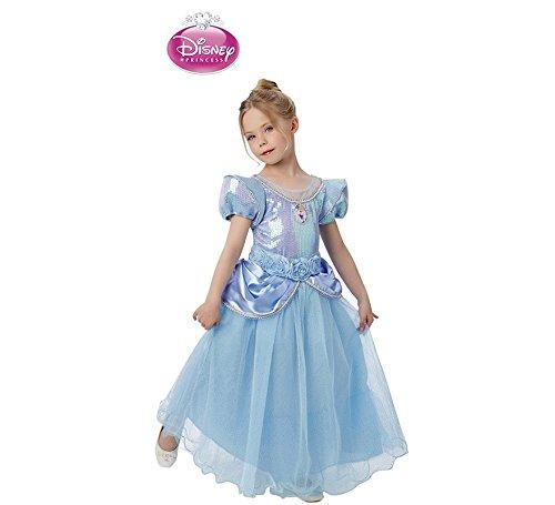 Princesas Disney - Disfraz infantil Cenicienta Premium, M (Rubie's Spain 620470-M)