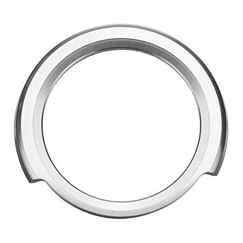 Viviance Ein Motor Start Stop Knopf Schalter Kreis Abdeckung Für BMW 1 2 3 4 Serie - Silber -