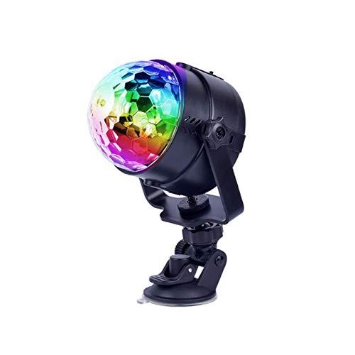 Laogg Discokugel Party Lampe, Auto-Disco DJ-Stadium, das LED-RGB-Kristallkugel-Birnen-Licht-Partei ()