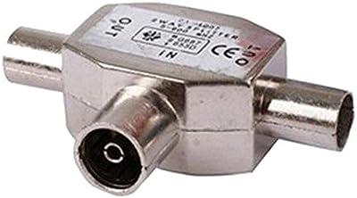 Duplicador / Ladrón de Dos vías para Señal de cable Coaxial Radio y Televisión 2384
