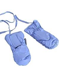 TuTu by Galeja Kinder Fausthandschuhe Thinsulate™ 40 Gram wasserdicht Blau 2 Gr. 2-4 + 4-6 Jahre Fäustling