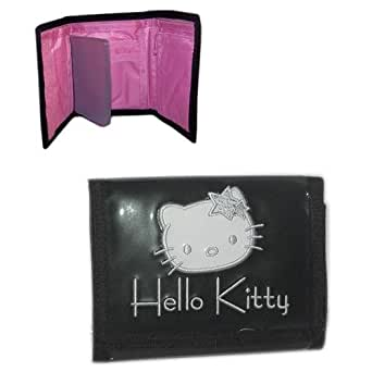 Portefeuille Hello Kitty noir