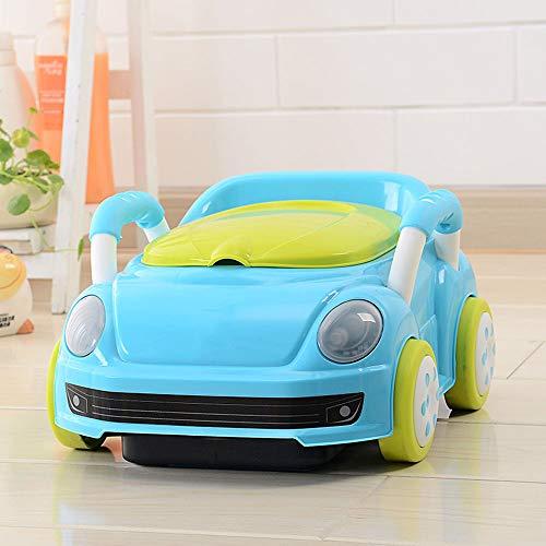 Baby Car Styling Kinder Hard Pad WC, Training Baby Independent WC Gute Gewohnheiten, Geeignet Für 1-7 Jahre Altes Baby,Blue