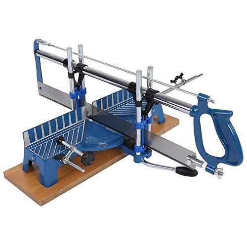 Gehrungssäge, Manuelle Winkelsäge 22.5° 30° 36° 45° 90° Präzisions-Gehrungssäg, aus Eisen, für Holz und Aluminium Handwerkzeug