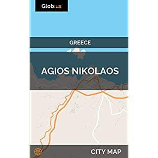 Agios Nikolaos, Greece - City Map