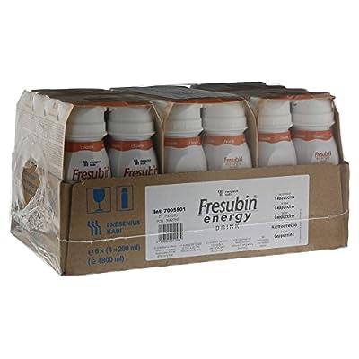 Fresubin energy DRINK Cappuccino, 200 ml - Trinknahrung - 24 EasyDrinks