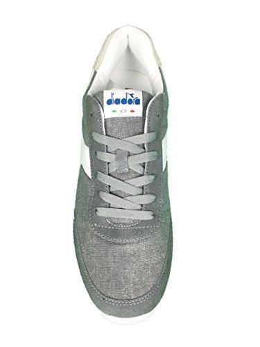 Diadora Jog Light C, Sneaker a Collo Basso Unisex – Adulto Ice Grey