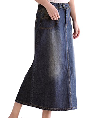 tootlessly-womens-comfort-casual-high-waist-denim-maxi-skirt-as-picture-m