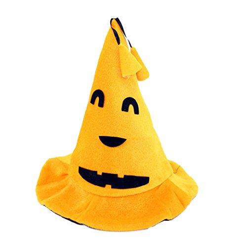 feiliandajj Kürbis Hexe Hut für Halloween-Kostüm Zubehör Gap, Kinder Herren damen, (Hexe Diamant Kostüme)