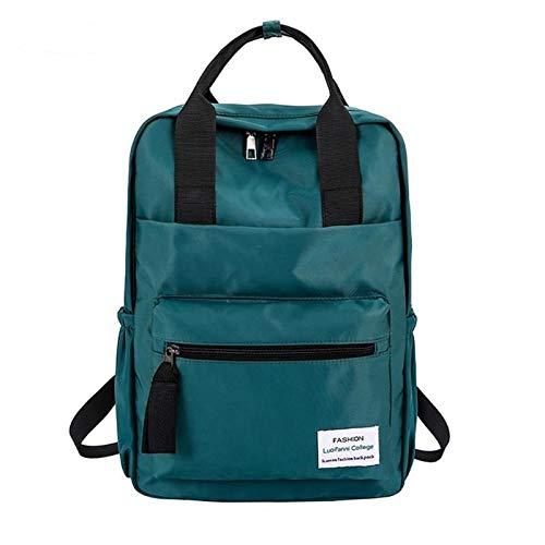OneMoreT Multifunktions-Rucksack, modisch, für Jugendliche, Koreanischer Stil, Laptop, Schulranzen für Teenager, Mädchen, Jungen, Reisen grün