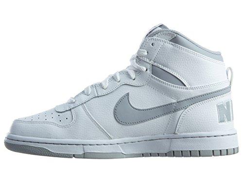 Nike 336608-118, espadrilles de basket-ball homme Blanc