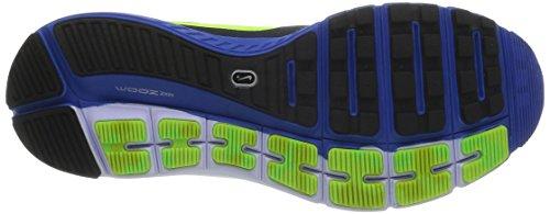 Nike Zoom Structure+ 17, Chaussures de running homme Multicolore (Black/Vlt Hypr Cblt Elctrc Grn)