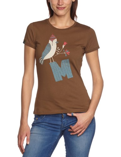 Maloja Avem T-shirt pour femme Marron