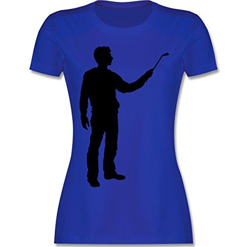 Handwerk - Maler - tailliertes Premium T-Shirt mit Rundhalsausschnitt für Damen Royalblau