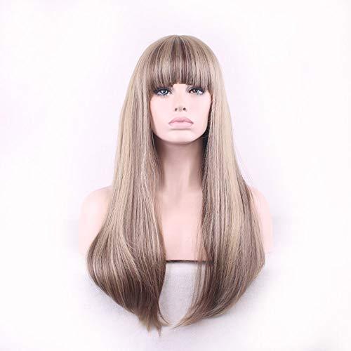 Shyymaoyi Perruque de cheveux synthétiques pour femme