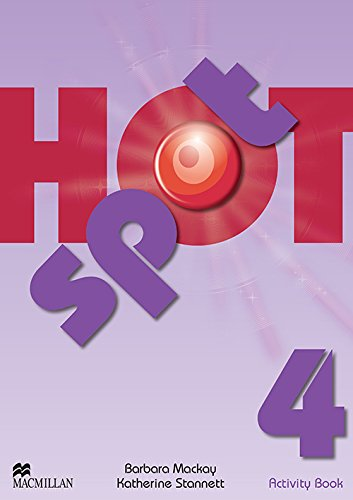 Hot spot. Activity book. Per la Scuola media: 4
