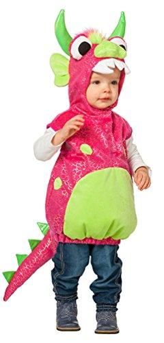 Drachen Kleine Kostüm - Karneval-Klamotten Monster Kostüm Baby Klein-Kind Drache-n Kostüm für Kinder Baby-Kostüm Größe 86