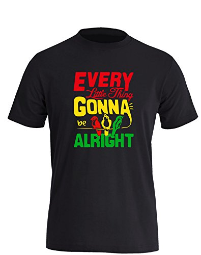 Every little thing gonna be allright - Herren T-Shirt in Größe XXXL