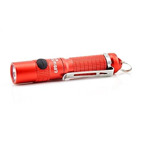 GranVela UltraTacK18 Lampe de poche, LED, porte-clés, imperméable à l