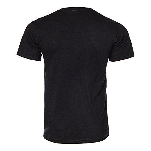 Slayer - Reign in Blood Erwachsene Kurzarm T-Shirt in Schwarz Schwarz