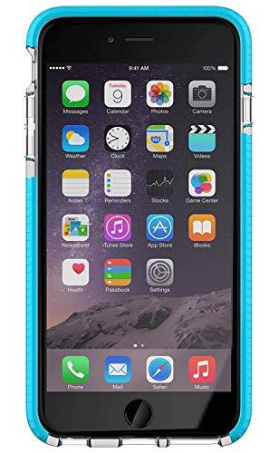 Tech 21 Evo Mesh Sport für iPhone 6+/6s+ transparent/blau (6 21 Evo Plus Tech Mesh)
