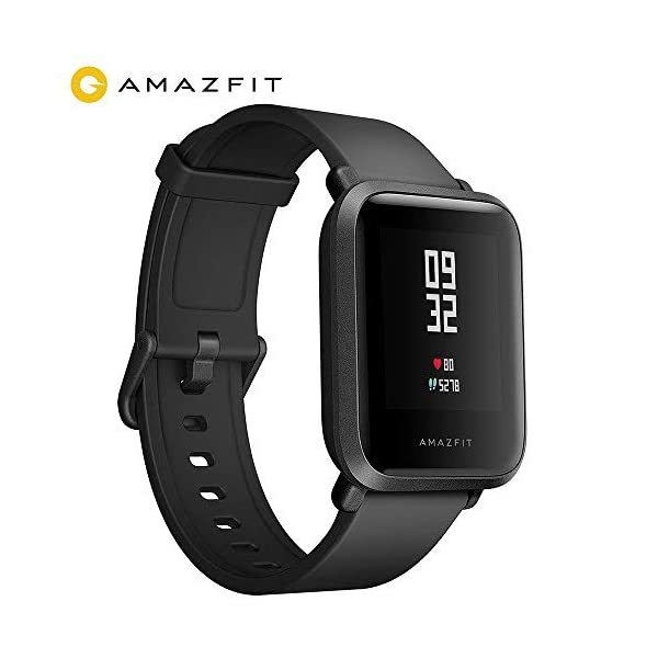 AMAZFIT Bip Smart Watch Fitness Smartwatch With GPS Real Time Heart Rate Touch Screen Waterproof Sport Fitness Watch And Sleep Tracker Barometer Geomagnetic Sensor Notification