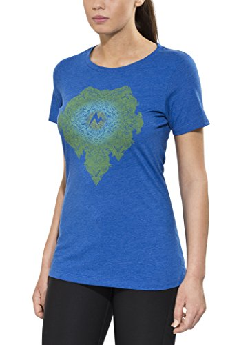Marmot Damen Printshirt Blau