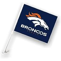 Fremont Die 98932 Denver Broncos-W-Wall Brackett bandiera per auto