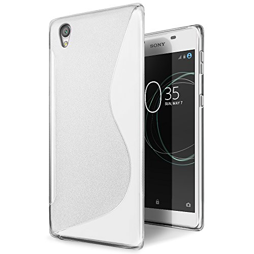 SLEO Sony Xperia L1 Hülle, Silikon Case Hochwertig TPU Gel matt Anti Rutsch Schutzhülle Translucent für Sony Xperia L1 Case - Transparent
