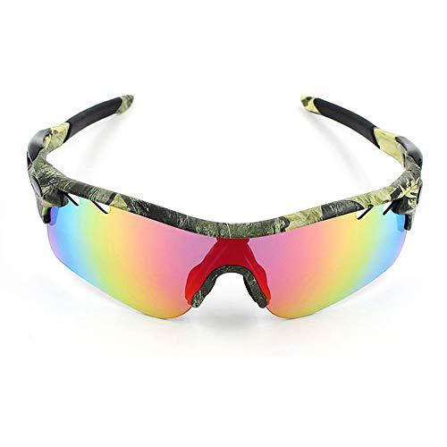 GBY Polarisierte Sport-Sonnenbrille für Herren und Damen, zum Radfahren, Laufen, Fahren, Polykarbonat, 3, Einheitsgröße