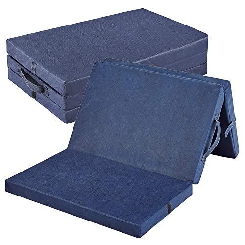 Bambini Reisebettmatratze Reisematratze Basic 120x60 cm | Höhe 4,5 cm | Klappbar | Bezug abnehmbar und waschbar