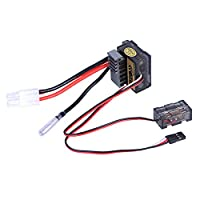 Alaojie HSP 320A Brush 1/8 1/10 ESC Electronic Speed Controller Dual Mode Band Brake for Car Boat Model
