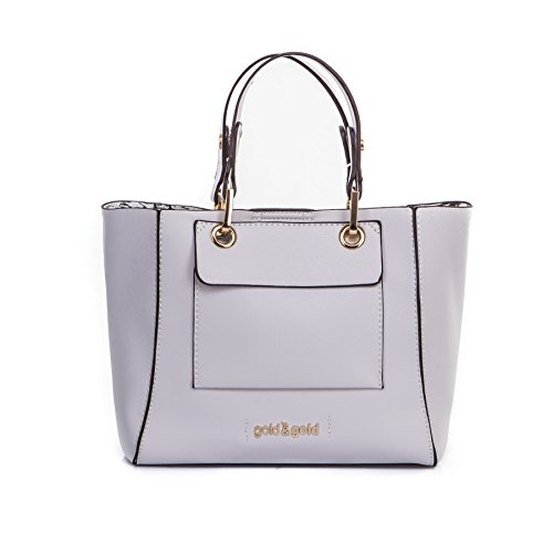GOLD AND GOLD - BORSA A MANO Grigio