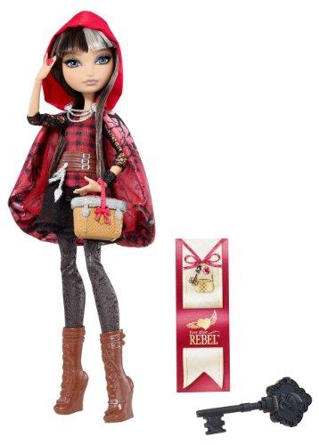 Mattel Ever After High BJG63 - Rebel Cerise Hood, ()