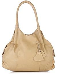 Fostelo Style Diva Women's Handbag (Beige)
