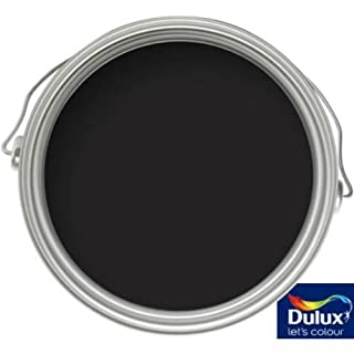 Dulux Weathershield Black - Exterior Gloss Paint - 750ml