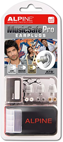 Alpine MusicSafe Pro Filter Ohrstöpsel - Silber