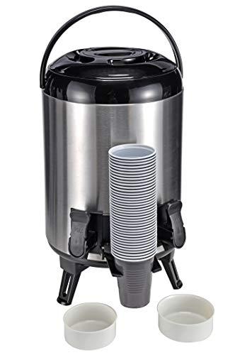 Distributore di bevande 9 litri in possesso di Airpot 2 rubinetti thermos