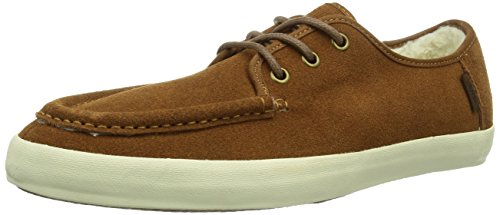 Vans M WASHBOARD - Suede Herren Sneaker Braun ((Fleece) monks / DV9)