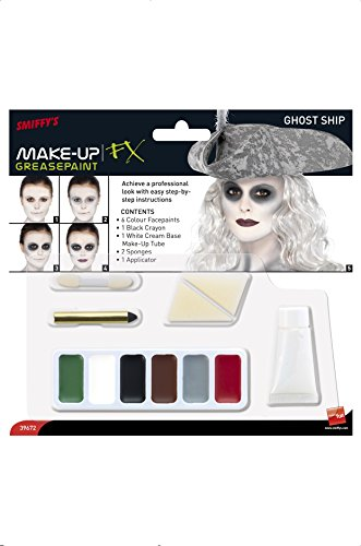 Smiffy's 39672 Geisterschiff-Make-up-Kit (Hexe Kostüm-und Make-up-ideen)