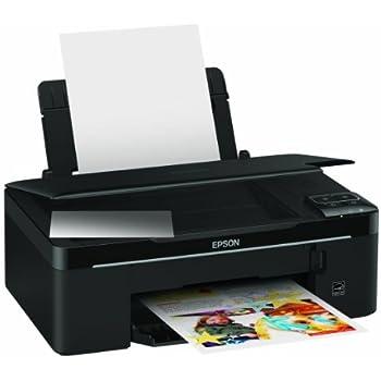 Epson Stylus SX130 Photocopieuse / imprimante / scanner couleur jet d'encre impression (jusqu'à) : 28 ppm (mono) / 15 ppm (couleur) 100 feuilles USB