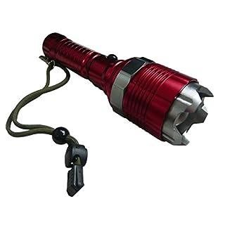 ALPENTOOL Rescue LED-Taschenlampe - eine Lampe die Ihr Leben retten kann/Notfall / Sicherheit /