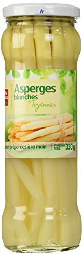 Belle France Asperges Blanches Moyennes Bocal 37 cl - Lot de 12